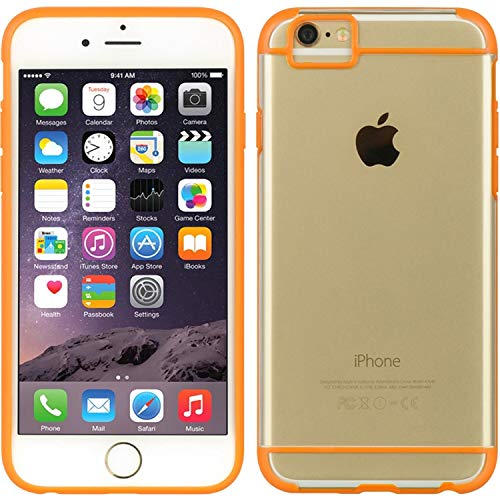DreamWireless Sueño inalámbrico Fusion Candy TPU Caso para iPhone 6/6S–Embalaje–Naranja