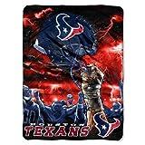 NFL Houston Texans 'Sky Helmet' Raschel Throw Blanket, 60' x 80'
