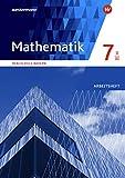 Mathematik - Ausgabe 2016 für Realschulen in Bayern: Arbeitsheft 7 WPF II/III mit Lösungen