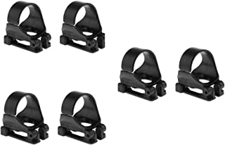 ButyYI Universal Snorkel Keeper Clip Plastic Snorkel Retainer Fit for Diving Accessories