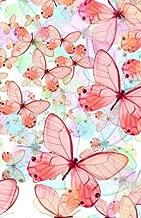 Journal: Pastel Butterflies: Lined Journal, 120 Pages, 5.5 x 8.5, Butterflies, Soft Cover, Matte Finish (Butterfly Journals) (Volume 4)