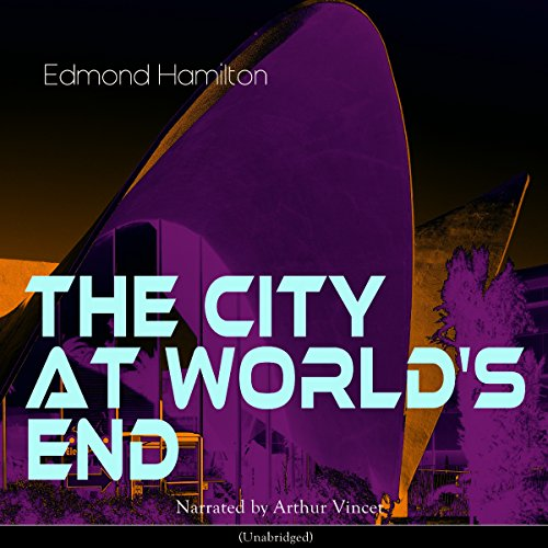 The City at World's End audiobook cover art