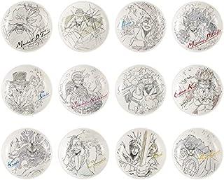 ワンピース 一番くじ EX 悪魔を宿す者達 E賞 描き下ろし絵皿 全12種 コンプリート セット カイドウ マルコ