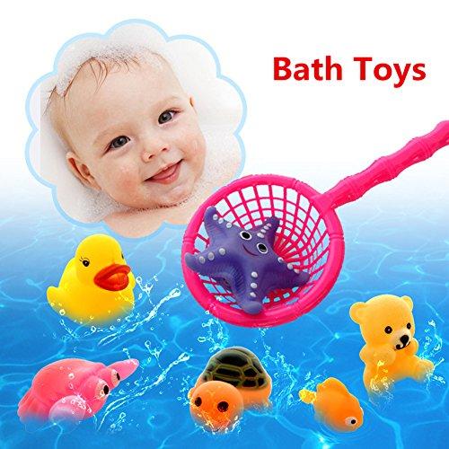 Bad Spielzeug, Chickwin Baby Badesachen Kinder Bad Spiel Wasser Pool Tub Tiere Sounding Toy