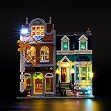Lightailing Light Set for (Creator Expert Bookshop Building Blocks Model - Led Light kit Compatible with Lego 10270(NOT Included The Model)