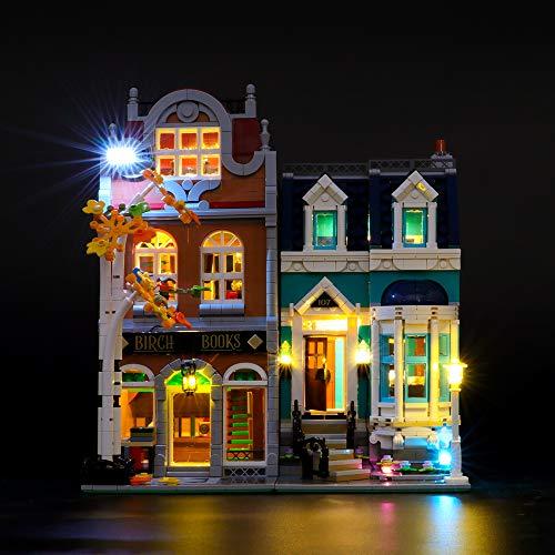 LIGHTAILING Licht-Set Für (Creator Buchhandlung) Modell - LED Licht-Set Kompatibel Mit Lego 10270(Modell Nicht Enthalten)