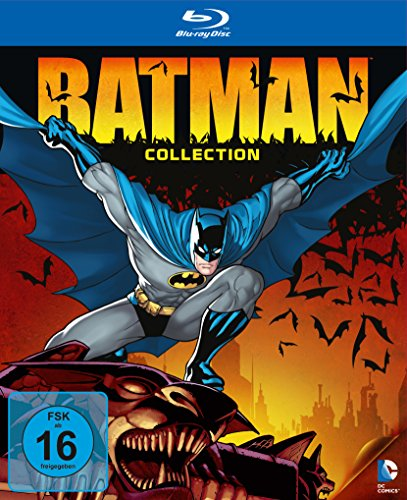 DC Universe Batman Collection (exklusiv bei Amazon.de) [Blu-ray] [Limited Edition]