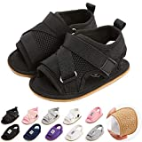 Baby Sandals Infant Boys Girls Summer Walking shoes Soft Anti-Slip Sole Beach Sandals Newborn Crib Shoes First Walker Shoes