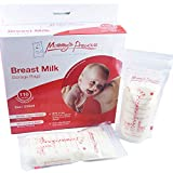 110 Count Breastmilk Storage Bags 8 Oz 235 ml Breastfeeding Freezer Storage Container Bags for Breast Milk comes Pre Sterilized & BPA Free with Accurate Measurements & Leak Proof. Buy Now!