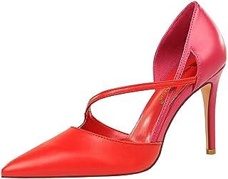 BalaMasa Womens APL12226 Pu Heeled Sandals
