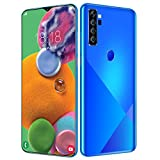 STMMXM A72plus Android 10 Smartphone, Smartphone Dual SIM con Pantalla 6.7' Water-Drop Screen, 13MP+24MP, 8GB+256GB, Desbloqueo Facial Teléfono Móvil