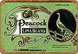 GUANGZHOU Lima Beans Retro Metal Sign Wall Plaque Kunst