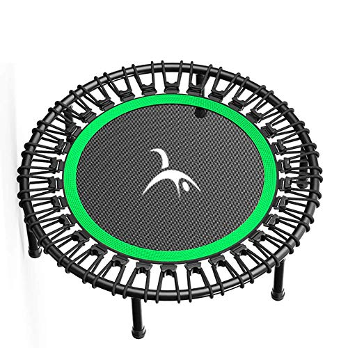 TBTBGXQ Fitness Trampoline for Adults & Kids, Indoor Jumping Workout Exercise Fitness Bouncer, Silent & Thick PP jump cloth steel Mini Trampoline