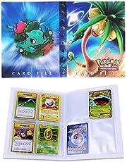 Funmo Pokemon Cartas Álbum, Comercio Tarjeta Álbum, Carpeta de Titular de Tarjetas de Pokemon, GX y EX Cartas Pokemon Álbum, Pokemon Cards Album Protección, 30 páginas 240 Tarjetas Dobles
