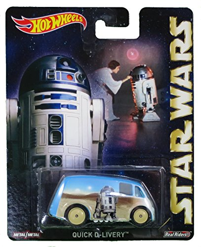 Quick D-Livery R2-D2 Hot Wheels 2015 Pop Culture Star wars Rare