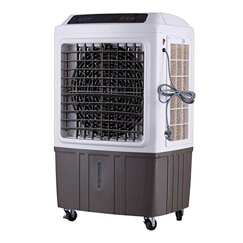 Ventiladores ZR- Industria Aire Acondicionado Móvil Refrigeración por Agua Protección del Medio Ambiente Aire Acondicionado Enfriarse Radiador Evaporativo 150W-450W (Color : Brown-Mechanical)