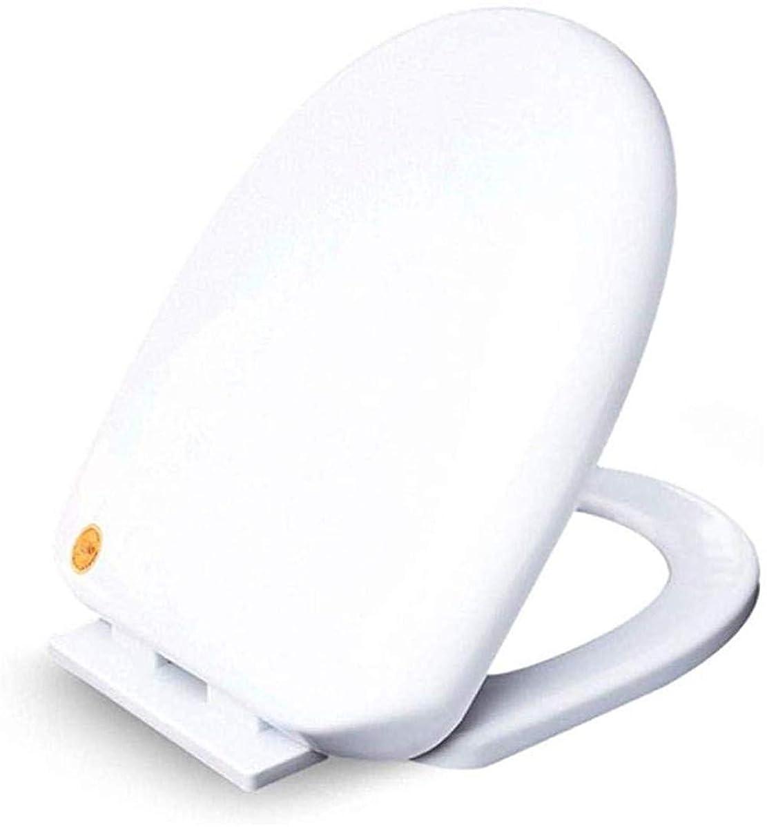検体増幅器きらめくAndou Nk 抗菌スロー閉じるミュートウルトラ耐性底部と便座U形状のユニバーサルトイレ蓋はバスルーム、洗面所、白のためにトイレシートカバーをマウント