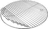 GFTIME Parrilla de Cocina Redonda 304 de 50cm para Parrilla de cerámica Akorn Kamado, Pit Boss K24, Parrillas Louisiana K24, Chargriller 16620, Varilla sólida de Acero Inoxidable de 20'
