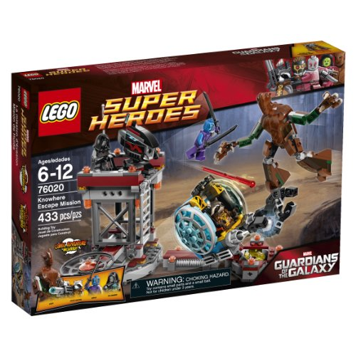 LEGO Super Heroes 76020: Guardians of the Galaxy - Knowhere Escape Mission [433 pcs]