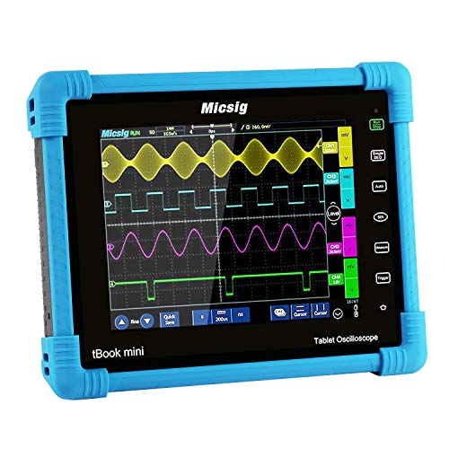 Micsig Digital Tablet Storage Oscilloscope 100MHz 4CH TO1104