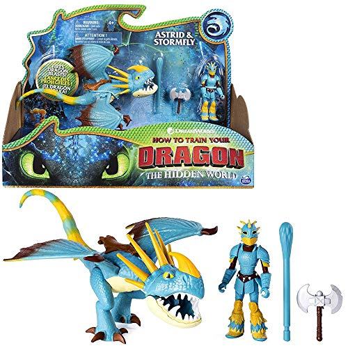 Dragons Drache Sturmpfeil & Astrid | DreamWorks Action Spiel Set | Stormfly