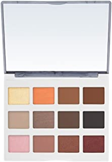 BH Cosmetics Eyeshadow Palette, Marble Collection, Warm Stone