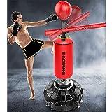 Set di palla di punzonatura libera con barra di filatura, palla di addestramento dell'agilità della velocità del tumbler, attrezzatura multifunzionale della formazione del bersaglio di reazione del be
