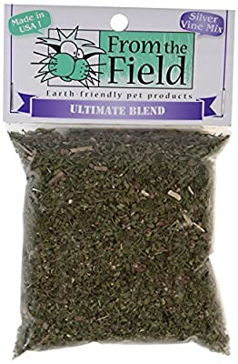 From The Field Ultimate Blend Silver Vine Catnip Toy, 0.5-Ounce Bag