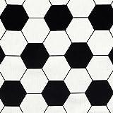 Fabulous Fabrics Cretonne Fußball — Meterware ab 0,5m
