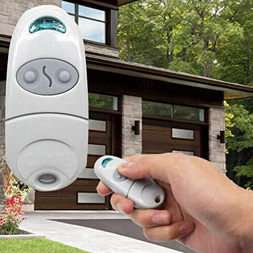 Telecomando Cancello Universali Automatico 433,92 Mhz, Telecomando per Garage, Telecomando Modulo Relè Senza Fili Interruttore Domotica Interruttore per TOP 432NA / 432 SA / 432 M