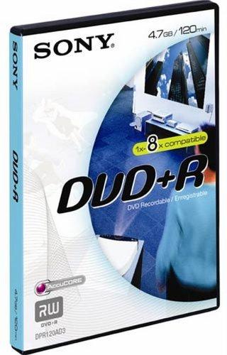 Sony DPR120 DVD-Rohlinge DVD+R (4,7 GB) Videobox