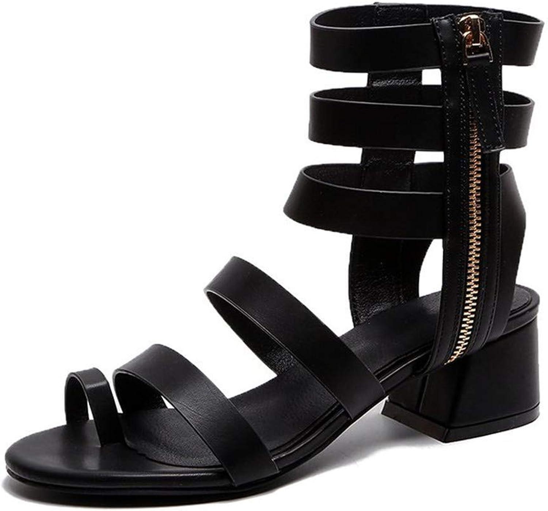 Women's Sandals Beach Ankle Strap Open Toe Flip Flops Elastic T-Strap Post Thong Flat Sandals shoes, Black