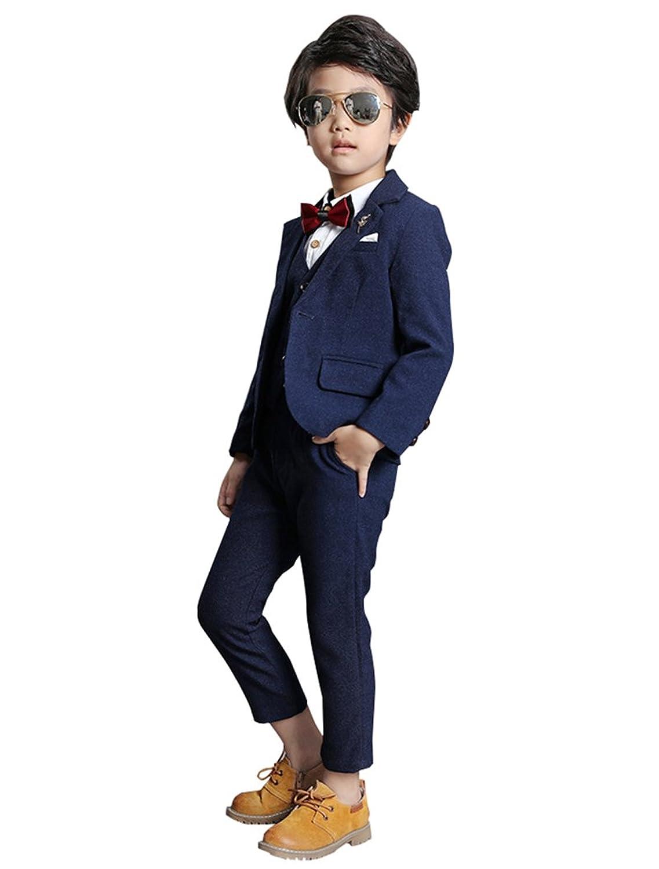 Cuteshower 子供服 男の子 スーツ フォーマルスーツ 5点セット