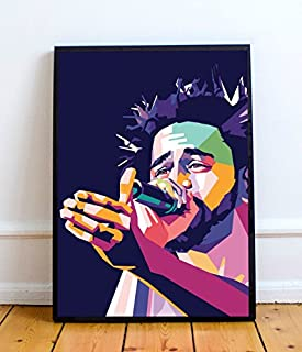 The Den J. Cole Limited Poster Artwork - Professional Wall Art Merchandise (More (20x24)