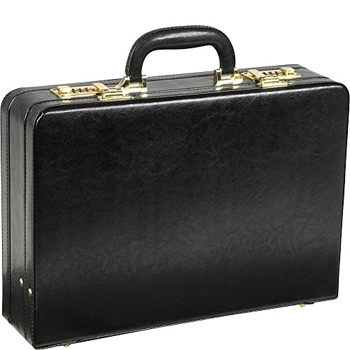 amerileather leather briefcases Amerileather Expandable Executive Faux Leather Attache Case (#2893-89)