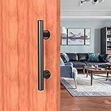 CCJH 24cm manija de la para puertas corredera, tirador de puerta para puertas correderas de madera