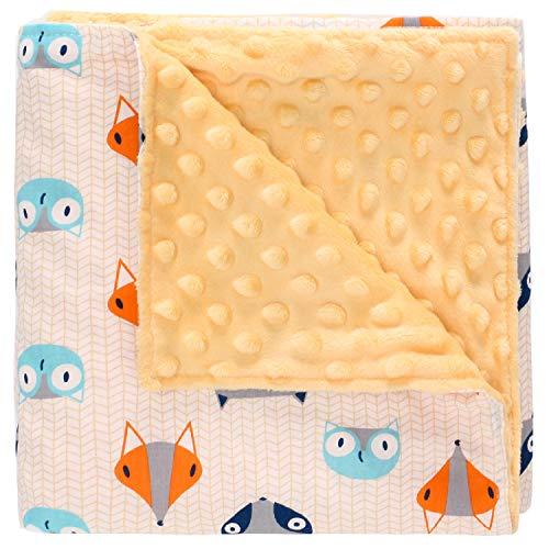 Miracle Baby Manta Bebe Algodón,Manta Coralina Bebe Algodón, Suave y Confortable,Swaddle Wrap Saco de Dormir para Niños