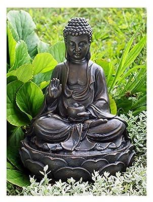 Anya Buddha Solar Water Feature by Eco Solaray