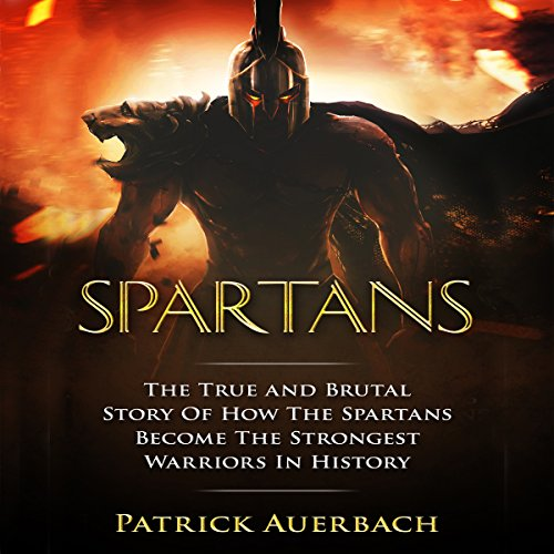 Spartans audiobook cover art