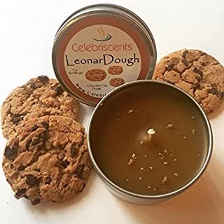 Chocolate Chip Dough Scented Soy Candle (4oz)