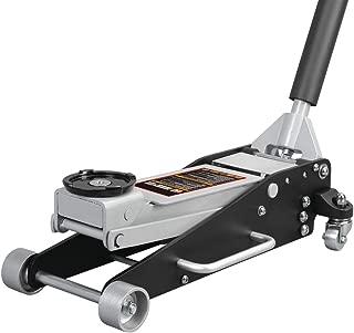 Torin Big Red Aluminum/Steel Racing Floor Jack: Dual Piston Pump, 2.5 Ton Capacity
