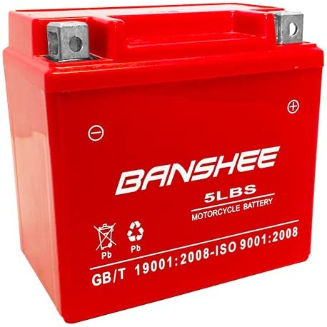 Banshee Replaces New Orleans Mall YTX5L-BS ATV Battery DVX90 90CC CAT for ARCTIC Ultra-Cheap Deals