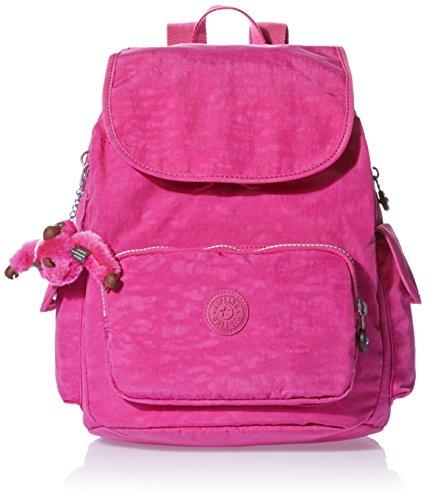 Kipling Damen CITY PACK S Rucksack Pink (Verry Berry), 27x33.5x19 cm