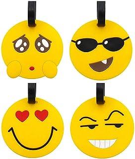 Etichette per bagaglio da viaggio, 8 pacchi espressione Panda Valigia Etichetta identificativa per viaggio, portamonete, p...