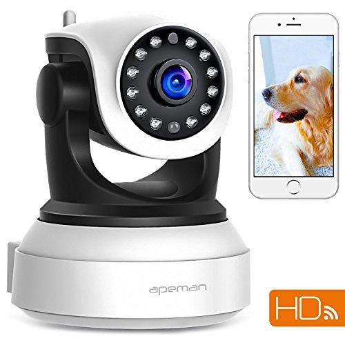 APEMAN WiFi IP Camera 720P Wireless Home Security ...