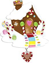 Grantwood Technology Personalized Christmas Ornaments General-Gingerbread House
