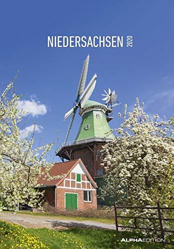 Niedersachsen 2020 - Bildkalender (24 x 34) - Landschaftskalender - Regionalkalender - Wandkalender