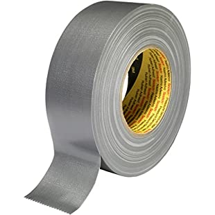 3M 389 Universal High Strength Fabric Tape, 38 mm x 50 m, Silver, Pack of 24:Warezcrack