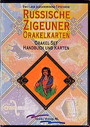 Russische Zigeuner-Orakelkarten: Set: Buch und 50 Karten