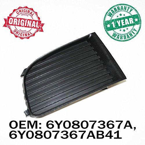 Côté gauche Grille Bumper Panneau sans trou de lampe de brouillard OEM 6y0807367 a 6y0807367ab41